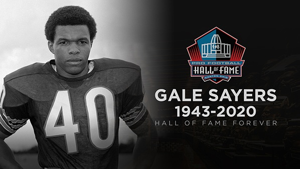 Football Legend Gale Sayers Dies with Dementia at Age 77