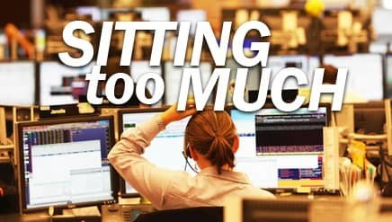 Get Off Your Butt! Long Sits Erodes Health