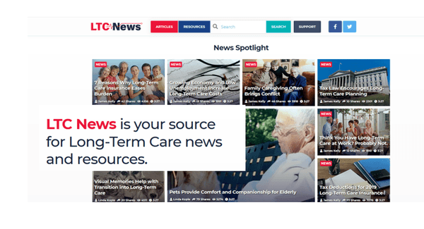 LTC NEWS Offers Enhanced Tools for Long-Term Care Planning