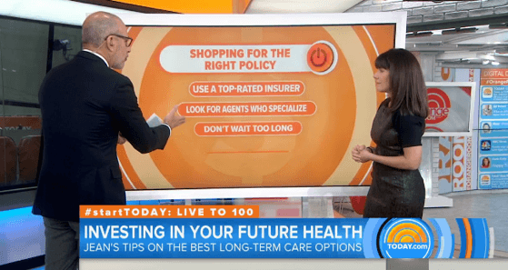 NBC Today Show: How to Pay for Long Term Care