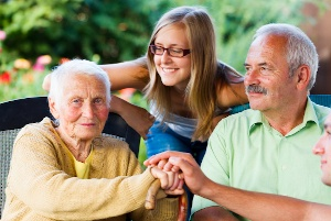Quality Caregivers Ease Emotions During LTC Event