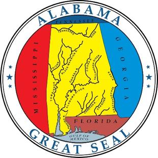 Alabama state emblem