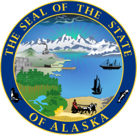 Alaska state emblem