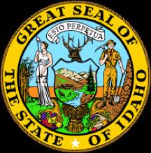 Idaho state emblem