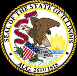 Illinois state emblem
