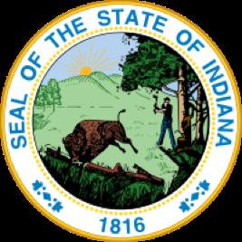 Indiana state emblem