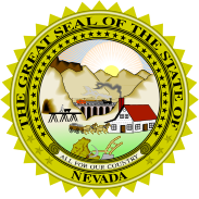 Nevada state emblem