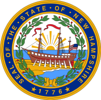 New Hampshire state emblem