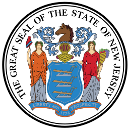 New Jersey state emblem