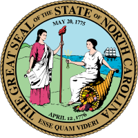 North Carolina state emblem