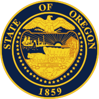 Oregon state emblem