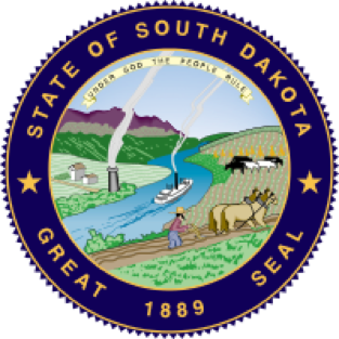 South Dakota state emblem