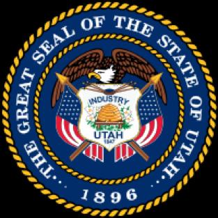 Utah state emblem