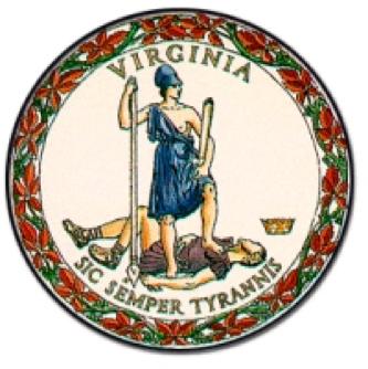 Virginia state emblem