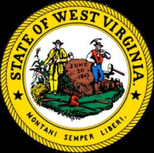 West Virginia state emblem