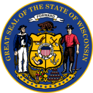 Wisconsin state emblem