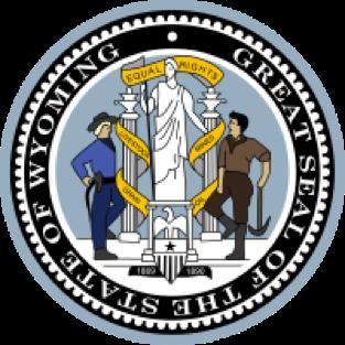 Wyoming state emblem